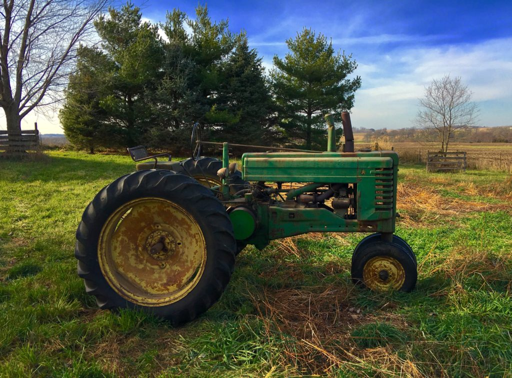 My father's John Deere Model A